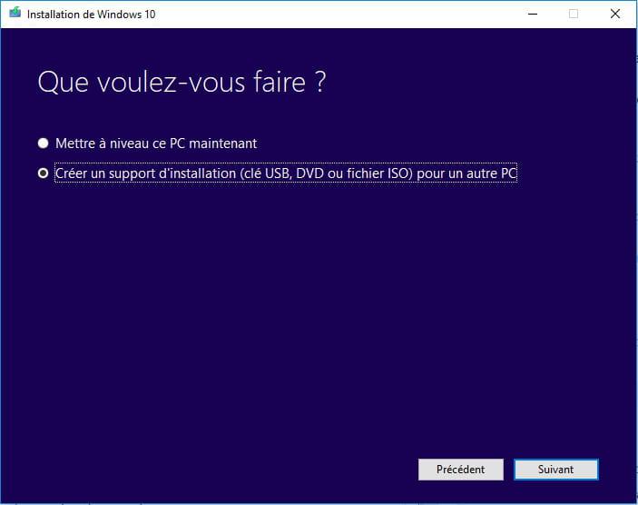 clef usb bootable windows 10