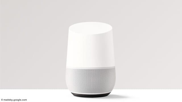 Les Google Home géolocalisables
