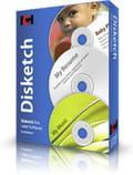Disketch - logiciel pour étiquettes de cd